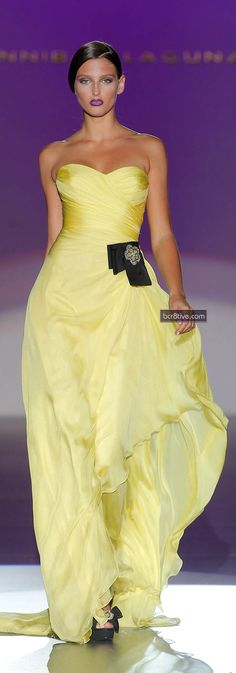 Admirable Les 100+ meilleures images de Robes chic jaune | robe chic, robe CG-44