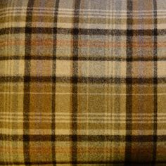 Choose your Tartan or Tweed fabric for your Handmade Footstool. We have a wide range of British Wool including Florence Anne, Balmoral and Ross Tweed. Tartan Fabric, Brown Beige, 100 Pure, Soft Furnishings, Interior Styling, Florence, Camel, Fabrics, Moon