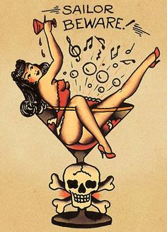 old fashioned pin up tattoo - Google Search