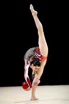 #rhythmic #gymnastics #ball