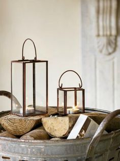 Cosy up your living room with candle holders