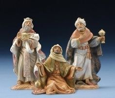 Fontanini by Roman Kings Nativity Set, Each Made in Italy Hand painted Figs Intricate Detail Traditional Design Includes Story Card Christmas Nativity Set, Christmas Store, Roman Kings, Fontanini Nativity, Baby Camel, Three Wise Men, Christmas Traditions, Seasonal Decor, Baby Animals