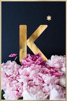 Flower Alphabet L by neon* fotografie as Poster in Aluminium Frame Cute Tumblr Wallpaper, Love Wallpaper, Galaxy Wallpaper, Cute Wallpapers, Iphone Wallpaper, Flower Alphabet, Alphabet Print, Alphabet Letters, Flower Frame