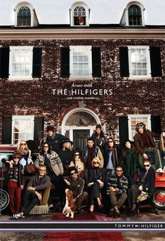 hilfiger 2011/12 campaign. Vampire weekend's hoilday song was used for this ad.