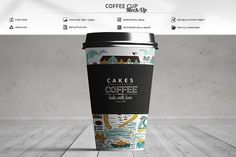 Coffee Cup Mock-Up  by MassDream on @creativemarket