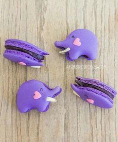 Elefantes macarons