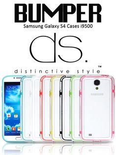 Bumper Series Samsung Galaxy S4 Cases i9500 $20.21 http://www.dsstyles.com/samsung-galaxy-s4-cases/bumper-series.html