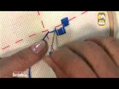 """I am a self taught hardanger stitcher. These videos will show how I stitch hardanger. The methods I use are not necessarily the """"right"""" way to stitch, and co. Hand Embroidery Videos, Bead Embroidery Patterns, Hardanger Embroidery, Learn Embroidery, Beaded Embroidery, Cross Stitch Embroidery, Embroidery Techniques, Scandinavian Embroidery, Bookmark Craft"""