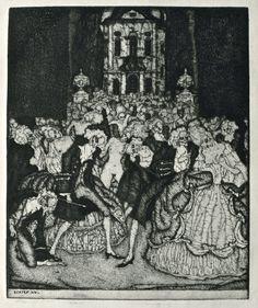 "Stefan Eggeler (1894-1969) - Several illustrations for ""Die Herzen der Könige"" (The Hearts of Kings), 1922 by Hanns Heinz Ewers."