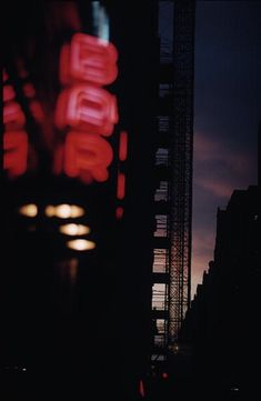 November 1962 Neon signs in night time New York. (Photo by Ernst Haas/Ernst Haas/Getty Images)