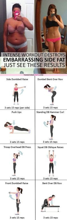 #womensworkout #workout #femalefitness Repin and share if this workout fixed your annoying side fat! Click the pin for the full workout. #weightlifting