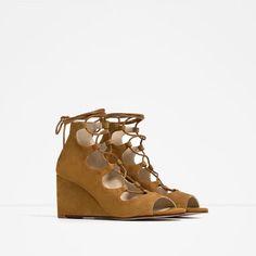 explore chaussures compensCAes CA lacets