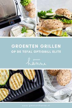 Groenten grillen? Op de nieuwe Tefal Optigrill Elite is het super gemakkelijk om de perfecte gegrilde groenten te maken. Halloumi, Plant Based, Om, Veggies, Yummy Food, Vegan, Cooking, Vegetarian Grilling, Kitchen