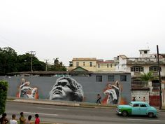 Mural by El Mac, in Havana, Cuba