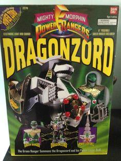 Dragonzord Mighty Morphin Power Rangers Action Figure  (Green Ranger)
