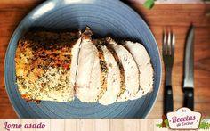 Lomo asado al horno con hierbas - Lomo de cerdo asado con hierbas y especias El lomo de cerdo es una carne con muy poca grasa muy consumida en nuestras casa. Lo más habitual es comerlo a la plancha, pero esta forma de hacerlo al horno os va a encantar. No manchamos nada, no nos da nada de trabajo, y en menos de 1 hora tenemos un ... - http://www.lasrecetascocina.com/lomo-asado-con-hierbas/