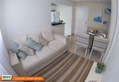 Apartamento decorado 2 dormitórios do Parque Sicília no bairro Alto do Campolim - Sorocaba - SP - MRV Engenharia