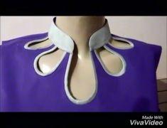 Latest Beautiful Neck Design for Kurti ( Suit, Kameez) Cutting and Stitching in Hindi Chudidhar Neck Designs, Neck Designs For Suits, Blouse Back Neck Designs, Neckline Designs, Saree Blouse Designs, Salwar Suit Neck Designs, Kurta Neck Design, Salwar Designs, Kurti Neck