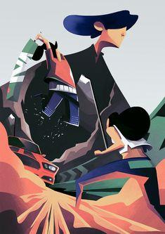 Illustration Process: Battle by Thomas Rohlfs