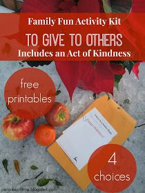 Pennies of Time: Family Fun Activities to Give to Others