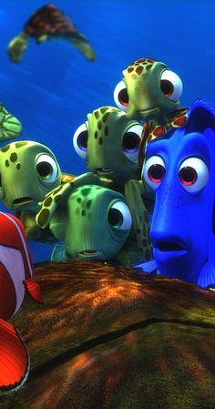 Disney Pixar's finding Nemo wallpaper. Story for kids. Disney E Dreamworks, Disney Pixar Movies, Film Disney, Disney Magic, Disney Art, Nemo Wallpaper, Wallpaper Animes, Disney Phone Wallpaper, Movie Wallpapers