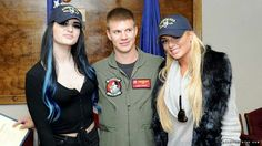 Paige & Amanda Saccomanno, Supporting the Troops