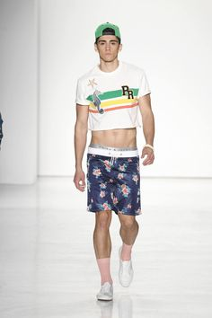 Parke & Ronen Spring-Summer 2017 New York Fashion Week Men's