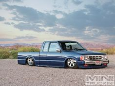 Jason Lekvold built this 1987 Mazda during his petitioning period before becoming a full-fledged club member. Check it out in Mini Truckin' Magazine Mini Trucks, Cool Trucks, Cool Cars, Custom Trucks, Custom Cars, Mazda, Lowrider Trucks, Old School Cars, Dump Truck