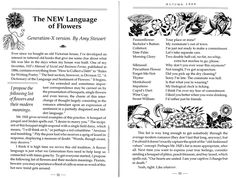 """This week's #FeatureFriday is """"The NEW Language of Flowers"""" written by Amy Stewart. #Gardening #GreenThumb #GreenPrints"""