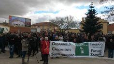 400 personas piden la biorrefinería de Barcial del Barco