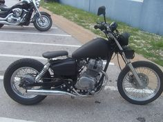Honda Rebel 250 Bobber. Me thinks this would be a good starter project. Considering I haven't ridden in 20 years!