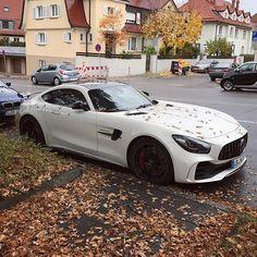 White AMG GTR Photo by @pvs_automobile