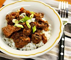 Slow Cooker Sindhi Beef Curry from The Perfect Pantry found on SlowCookerFromScratch.com