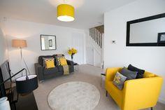 Living Room at Plumlife Development - Bridgewater Village, Eccles.