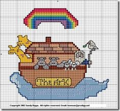 baby_noahs_ark_free_cross_stitch_pattern