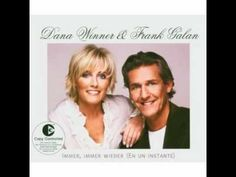 Dana Winner and Frank Galan - Never never never - YouTube