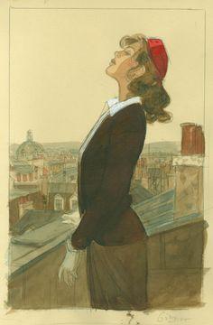Les expositions de Jean-Pierre Gibrat