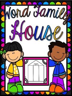 Check out this easy way to teach word families to little ones! Super EASY prep-let the copy machine do it for you! ***Includes:-Word Families: at, et, it, in, an, ed, ot-Cover page for students to illustrate as a house-Blank page to add in your own word family-Ability to cut book into house shape-Three opportunities for students to practice writing the words YOU choose!*****Checkout My Other Products!!!******More Color BooksRed Book FREEBIEYellow BookOrange BookBrown BookGreen BookThanks…