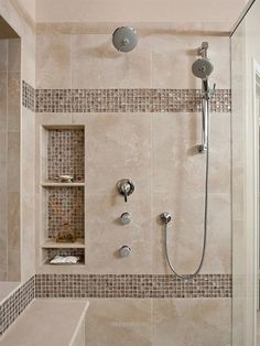 Superb Beautiful Shower Tile Ideas Glass Cover Shower Metalic Shower The post Beautiful Shower Tile Ideas Glass Cover Shower Metalic Shower… appeared first on Derez Decor .
