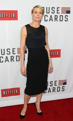 "Tracey Mattingly - News - Robin Wright at the Netflix ""House Of Cards"" Event"