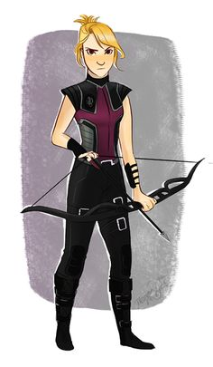 I'm Clare, aka Hawkeye the next hawkeye blah blah, i can't miss, i have worked at shield for who knows how long
