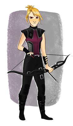 Hawkeye as Hawkeye