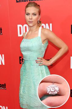 Scarlett Johansson's ring. From round diamonds to heart-shaped gems, see the best celebrity engagement rings of all time (and get the details on each!)