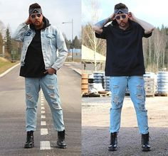 People Around The World, Real People, Denim Ootd, Ripped Jeans, Boyfriend Jeans, Dapper, Street, Pants, Fashion