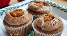 Apple Pie Cupcakes, These are perfect for Fall!