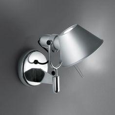 Faretto da parete orientabile TOLOMEO FARETTO | Faretto a LED Collezione Tolomeo by ARTEMIDE | design Michele De Lucchi, Giancarlo Fassina