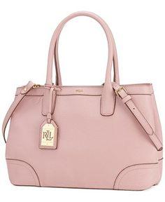 5b7048fa05a4 Lauren Ralph Lauren Fairfield City Shopper Handbags   Accessories - Macy s