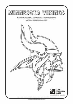 Minnesota Vikings Coloring Page Fall Respite Event Coloring