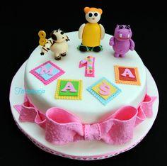 Baby Tv Cake, 1st Bday Cake, Bambam, Cake Ideas, Alice, Pasta, Cakes, Deco, Desserts