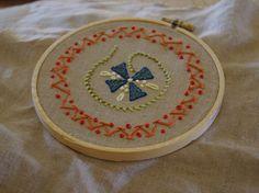 circular doodle stitching